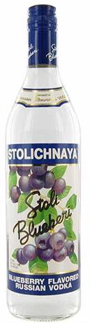 Stolichnaya Vodka Blueberi